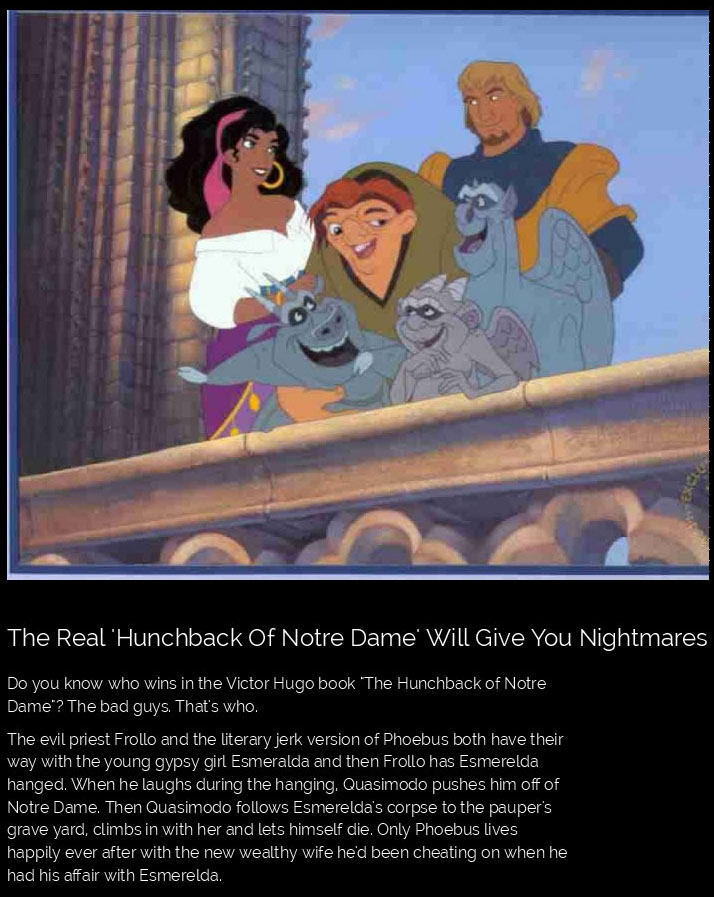 The Truth About Your Favorite Disney Movies
