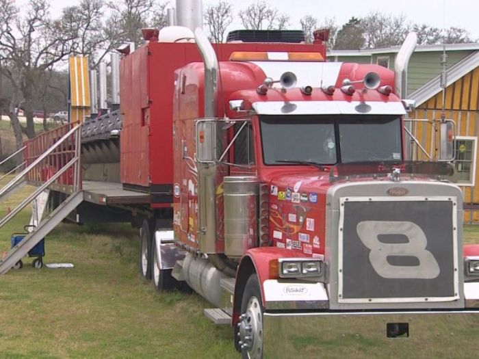 A Truck Sized Barbeque