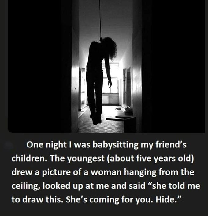 Kids Say The Creepiest Things Sometimes