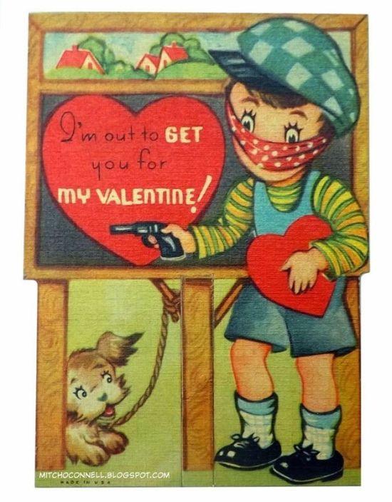 Vintage Valentines That Are Just Plain Weird