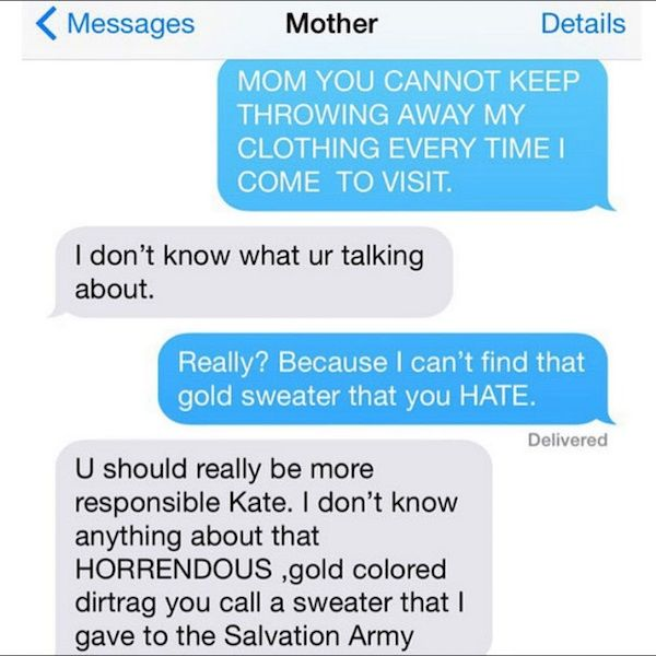 Crazy Texts From A Crazy Jewish Mother