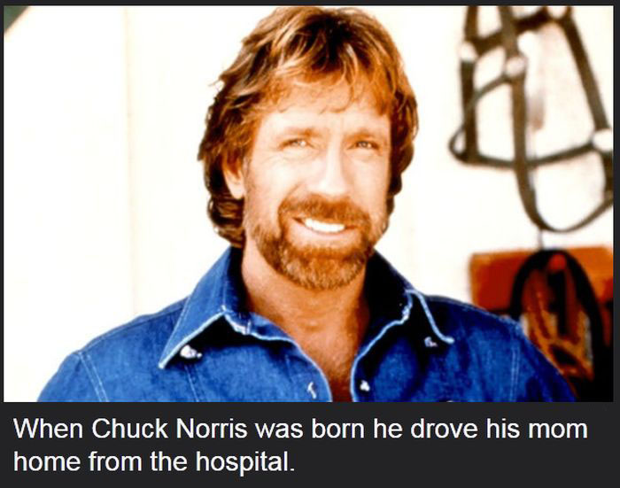 These Chuck Norris Facts Might Change Your Life