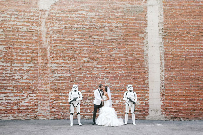 This Couple Had The Coolest Star Wars Wedding Ever