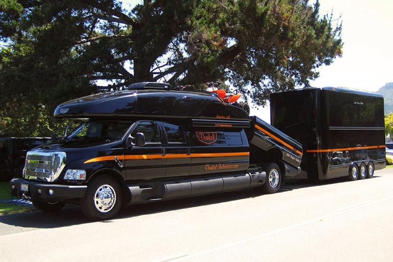 Ford F 750 Dunkel Luxury Hauler 4х4 Part 2 Vehicles