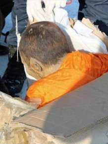 Scientists Find 200 Year Old Mummified Monk Still Meditating