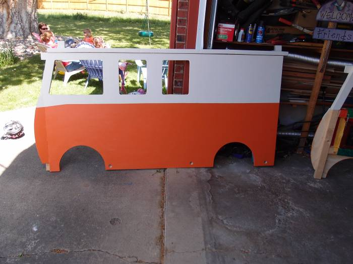 How To Build A VW Bus Bed For $100, part 100