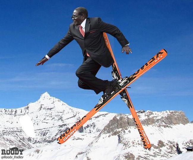 Robert Mugabe Has Become A Sensational Meme With #MugabeFalls