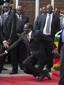 Robert Mugabe Has Become A Sensational Meme With #MugabeFalls