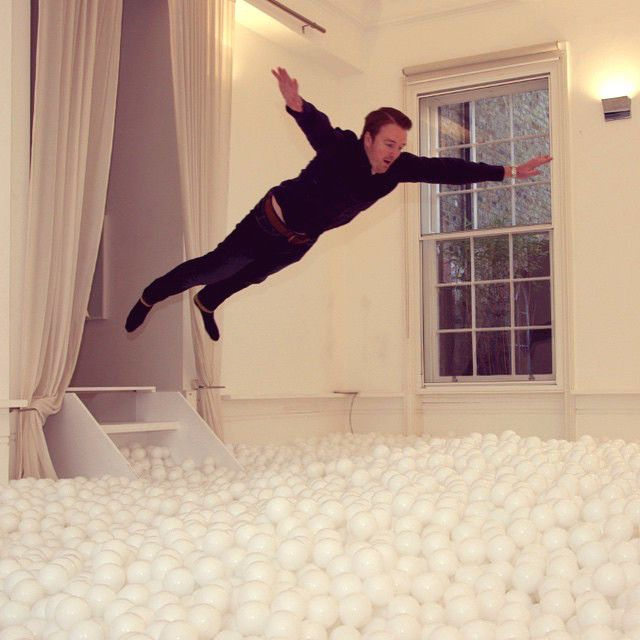 London Now Has A Giant Ball Pit For Grown Ups