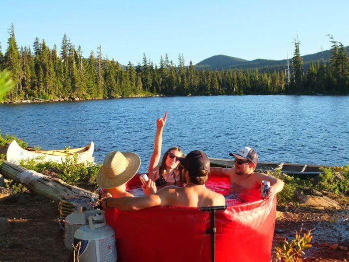 Say Hello To The Mobile Hot Tub