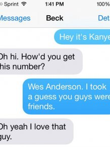 Kanye West Texts Beck Demanding He Gives His Grammy To Beyonce
