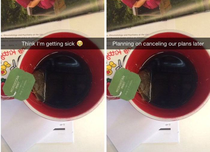 What It Would Look Like If People Were Actually Honest On Snapchat