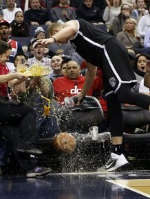 Epic Alcohol Fail At A Basketball Game