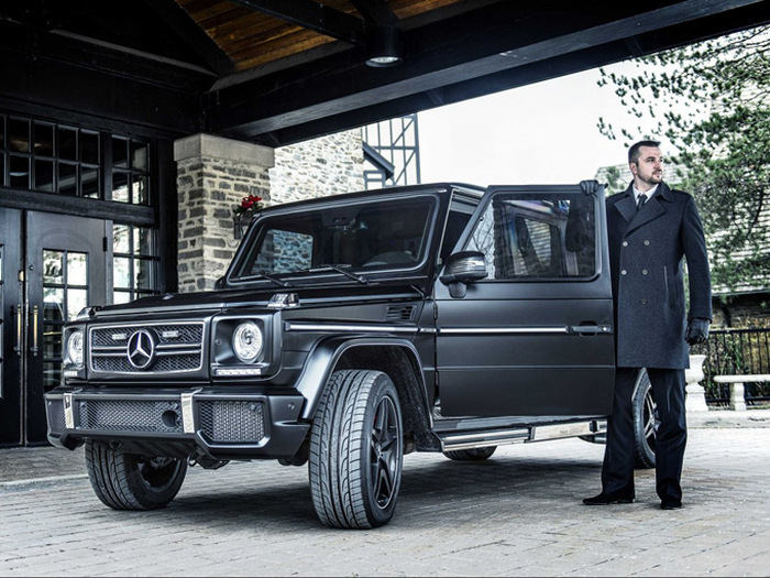 This Mercedes-Benz G 63 AMG Limo Is Ballin