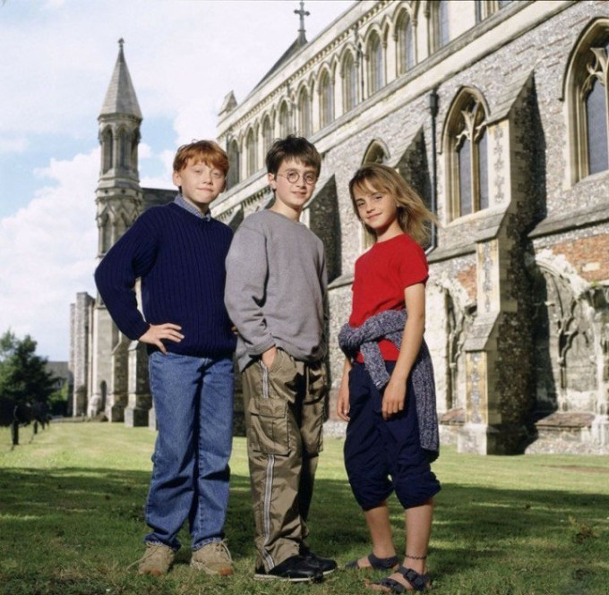 Press Photos Of The Harry Potter Cast Back In The Day