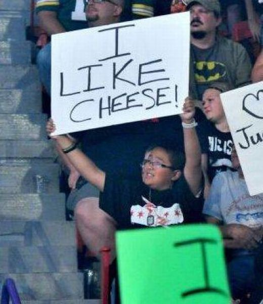 The Best Crowd Signs Ever Spotted At Sports Events