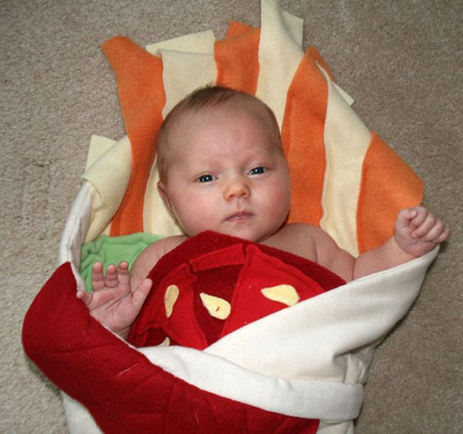 Turn Your Baby Into A Burrito With This Awesome Blanket