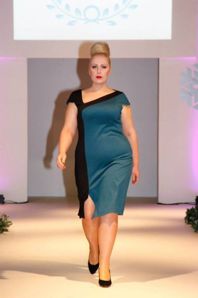 Talk Show Host Transforms Herself Into A Plus Size Model