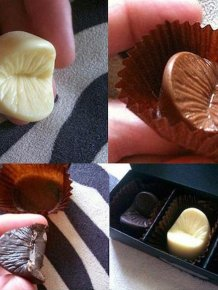 Give Your Lover A Piece Of Your Chocolate Covered Anus