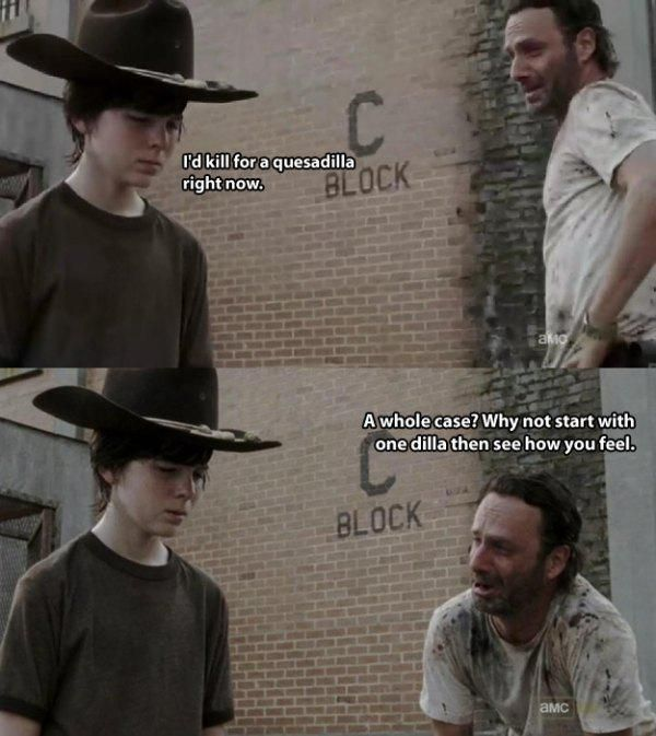 No One Tells Better Dad Jokes Than Rick Grimes From The Walking Dead