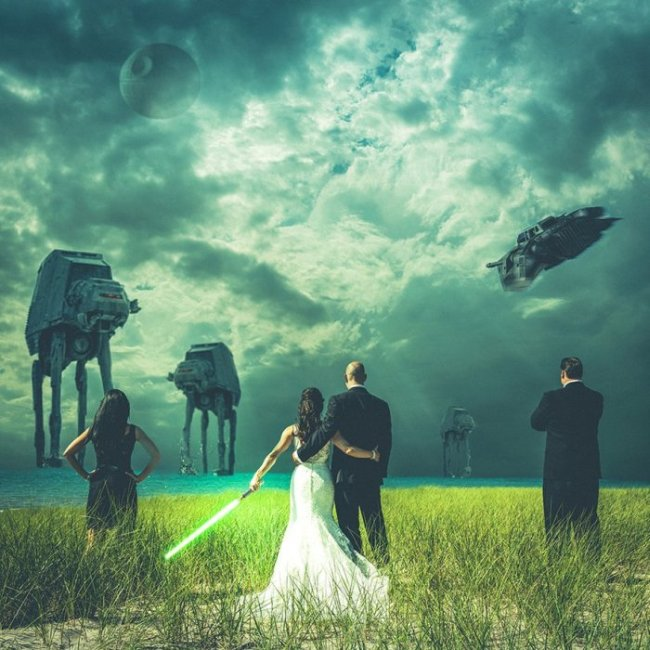 These Couples Got Geeky In These Awesome Wedding Photos