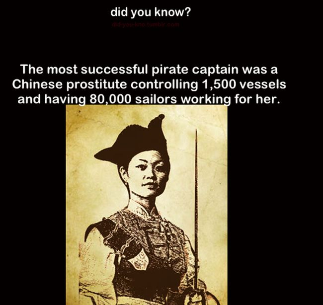 This Chinese Prostitute Was A Dominant Pirate