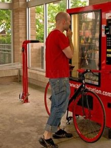 Self-Serve Bike Repair Vending Machine