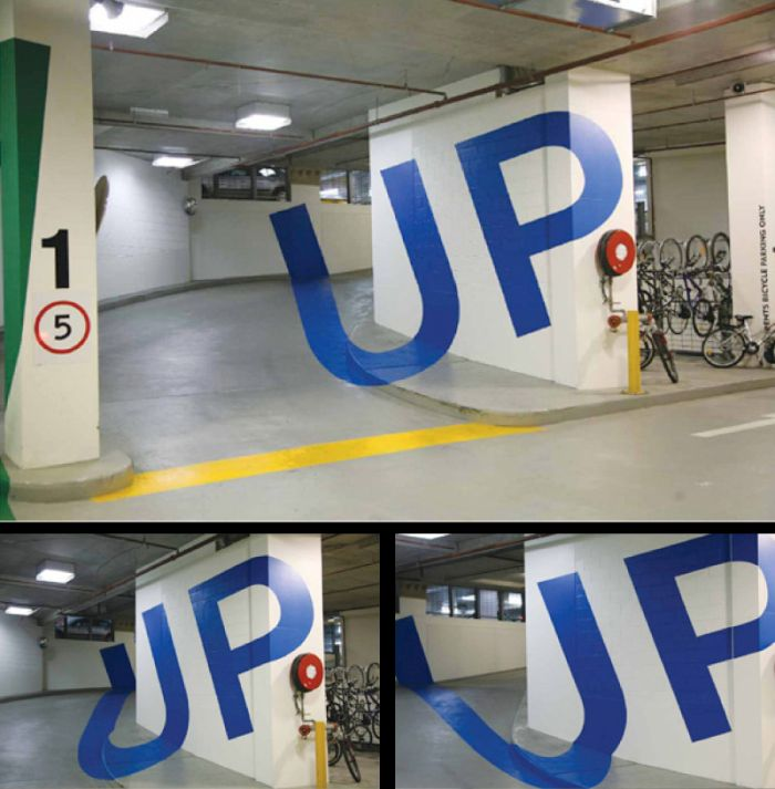 The Paint At Australia's Eureka Car Park Will Warp Your Brain