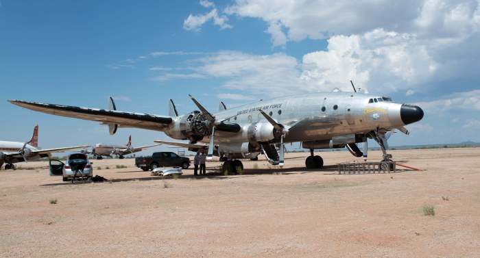 The Very First Air Force One Is Just Wasting Away In Arizona