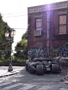 Satoshi Araki Recreates A Scene From Batman With An Awesome Diorama