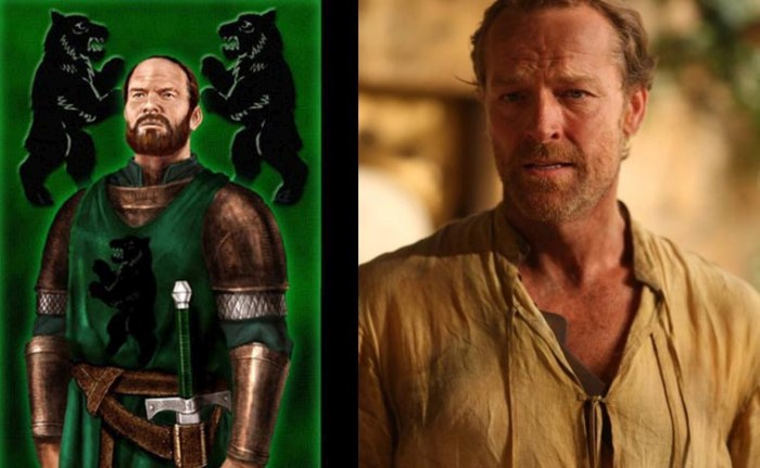 How Game of Thrones Characters Look Based On The Books Vs TV