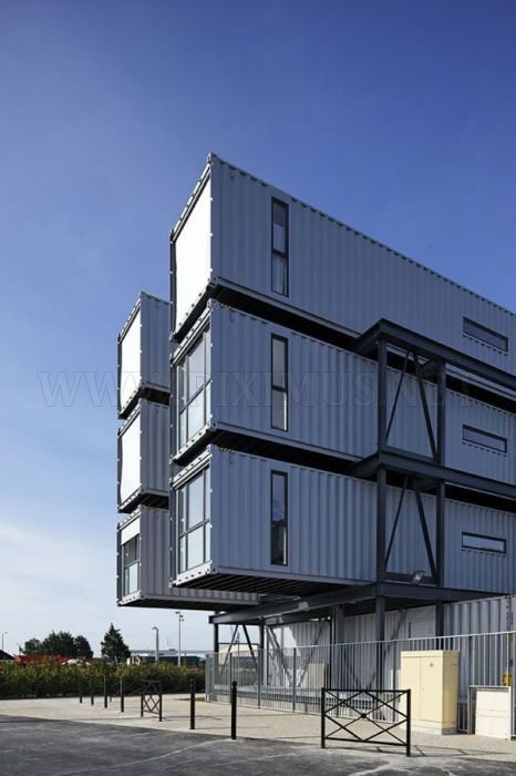 Student Dorm Rooms Made From Shipping Containers