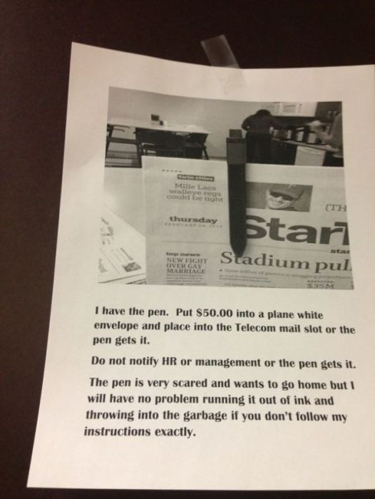 These Hilarious Office Notes Make Work Worth Going To