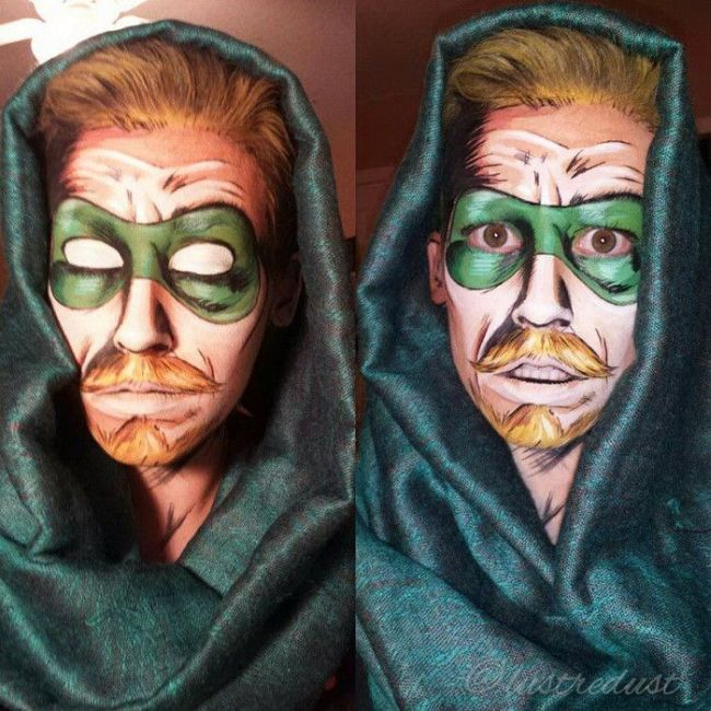 These People Used Makeup To Transform Into Comic Book Characters