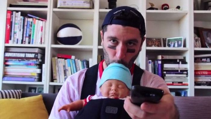 This Fake Baby Will Help You Get Away With Drinking In Public
