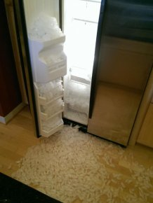 This Ice Maker Works A Little Too Well