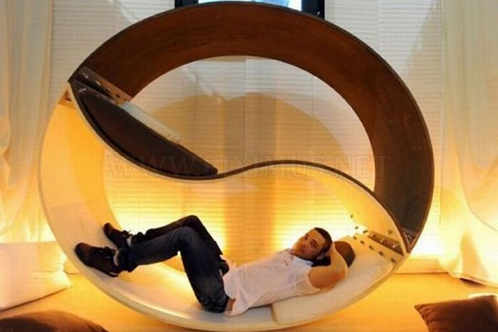 Charming Cool And Unusual Bed Designs Pictures