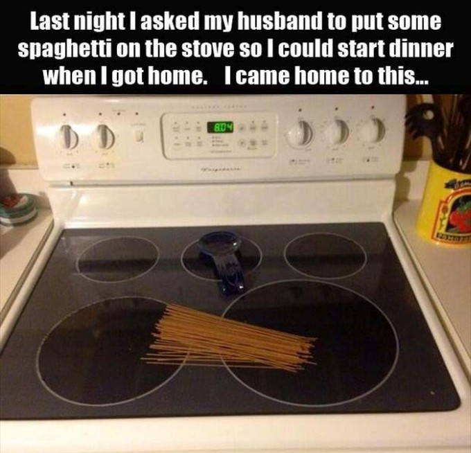 This Is Husband Logic At Its Finest