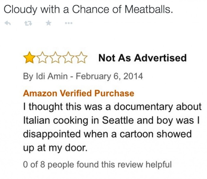 Hilarious Movie Reviews Found On Amazon