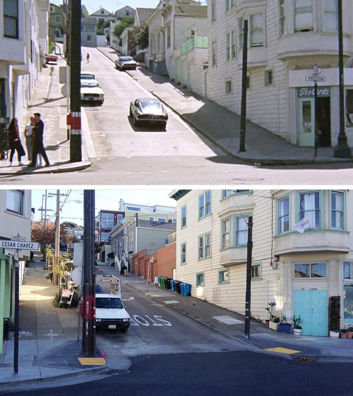 Famous Movie Locations Back In The Day And Today