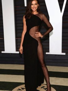 Rita Ora And Irina Shayk Show Off Some Skin At The Oscars After Party