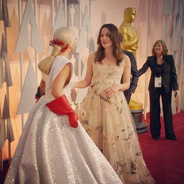 All The Best Celebrity Photos From The 2015 Oscars