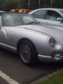 The TVR Chimaera Restoration Project