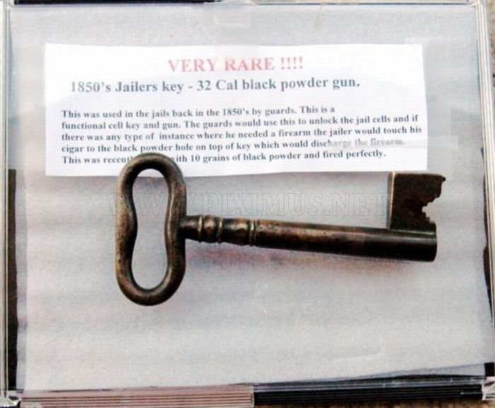 Guns Made from Jailers Keys