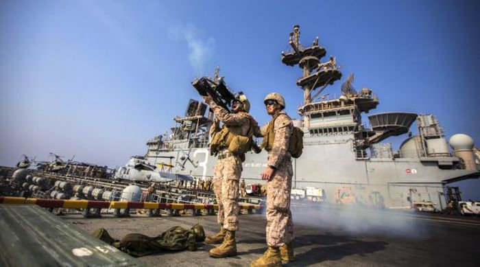 Incredible Photos Show US Marines In Action