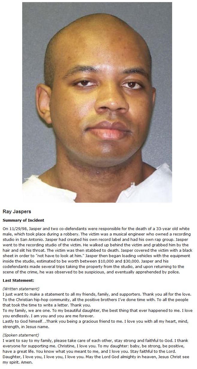 These Were The Last Words Of Death Row Inmates