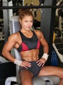 Japanese Bodybuilder Tomoko Kanda