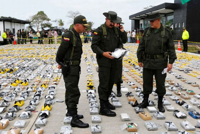 Police Intercept A Cocaine Shipment Worth $60 Million