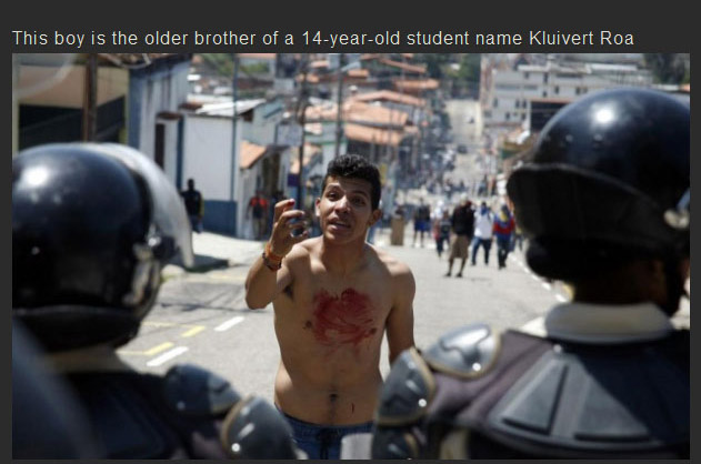 A Venezuelan Teen Was Gunned Down During A Protest Now His Family Mourns