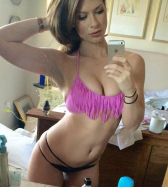 Hot girls in front of the mirror